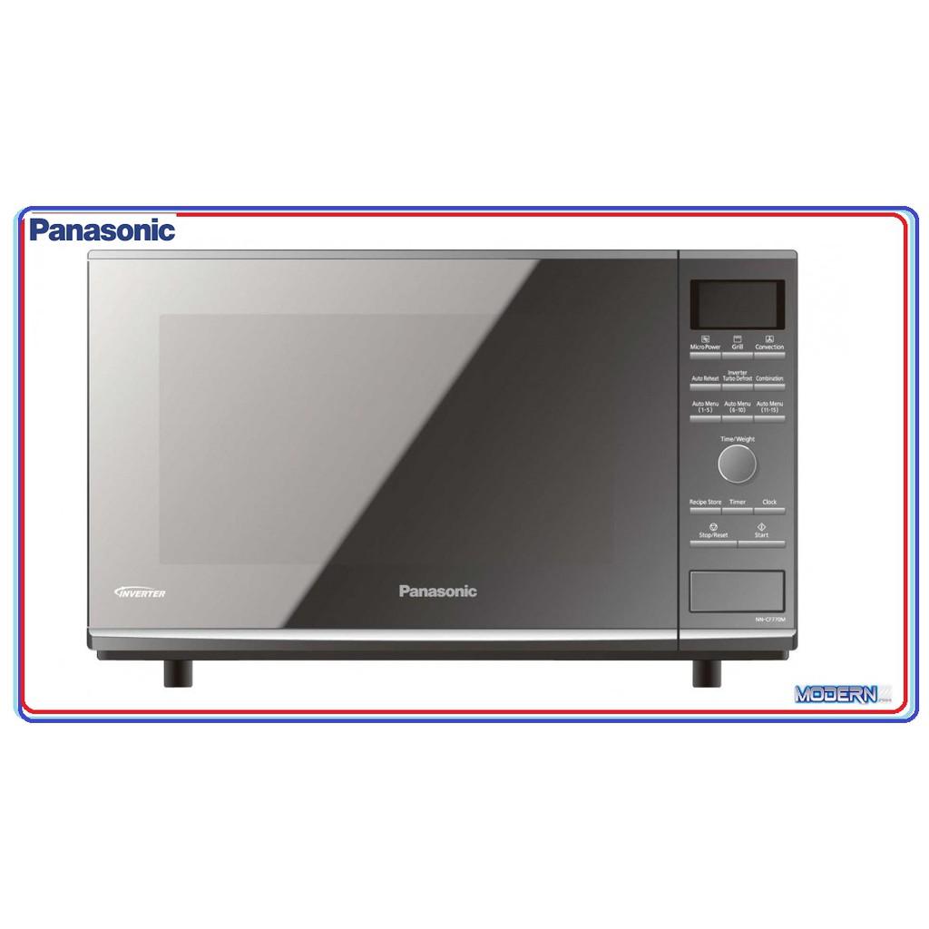 panasonic 27 litre inverter convection microwave oven nn cf770m