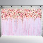 Romantic Rose Flower Photography Backdrops Background Wedding Decorations