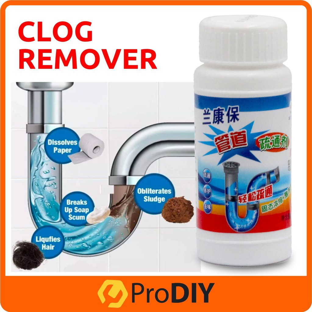 random packaging clog remover drain pipe basin cleaner clogged drainage remover powder for toilet and kitchen 110g 管道疏通剂