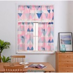 Pink Red Geometric Pattern Tassel Partition Curtain Study Kitchen Curtains Fashion Hot Sale Curtain Shopee Malaysia