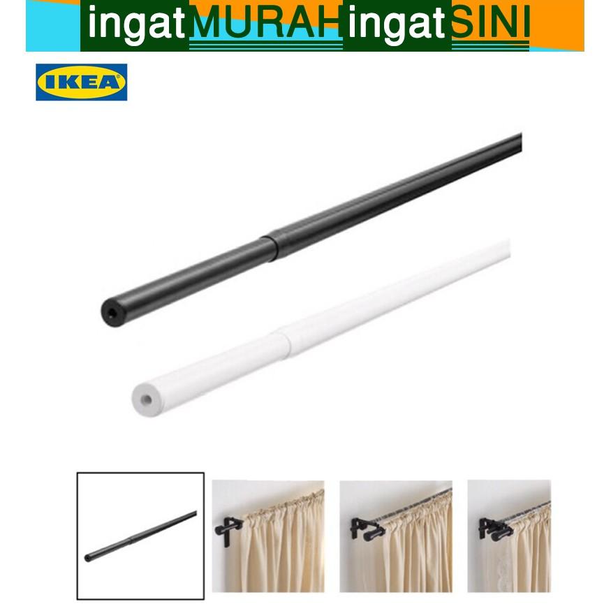 original racka curtain rod only adjustable curtain rod 70 120cm 120 210 cm 210 385cm rod only