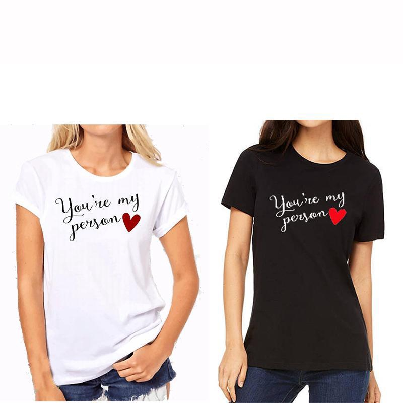 Bff Gift Birthday Shirts Funny Women S Clothing Best Friend Shirts Black And White 100 Cotton Casual Tee Shopee Malaysia