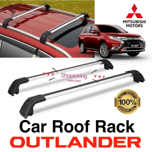 mitsubishi outlander 2016 2020 car roof rack thickness design