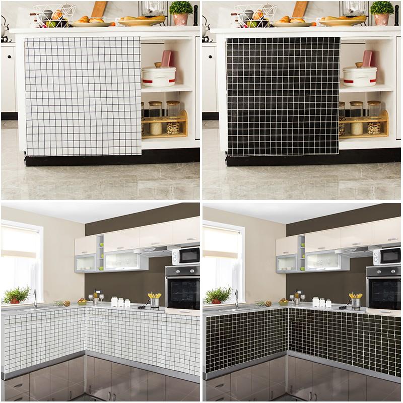 cabinet curtain kitchen shelf sink cover grid short curtain accept customize