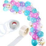 Balloon Garland Kit Balloon Arch Garland For Wedding Birthday Party Decorations Pink Purple Blue Shopee Malaysia