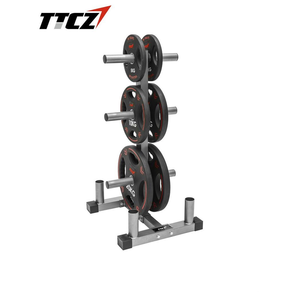 weight plate rack storage rack bar holder standard olympic weight tree 2 5 5cm