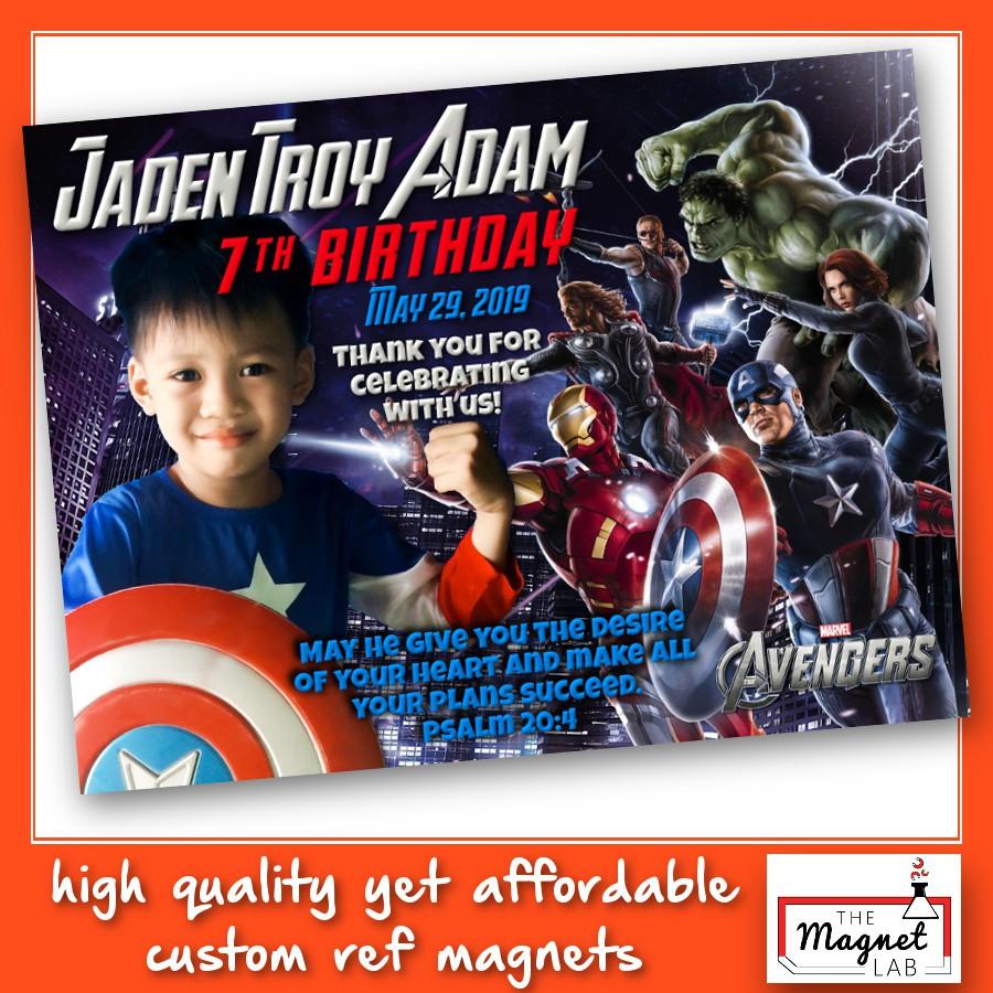 Marvel Avengers Ref Magnet Souvenir Birthday Christening Giveaways Iron Man Thor Captain America Shopee Philippines