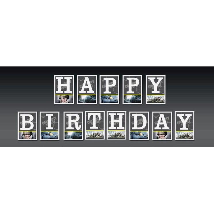 Call Of Duty Happy Birthday Banner Shopee Philippines