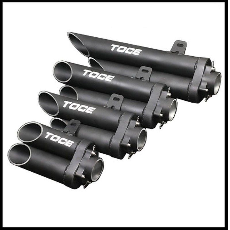 for toce exhaust motorcycle exhaust tip motorbike muffler tube universal 51mm motorcycle muffler cafe racer for r1 cbr600rr zx6r