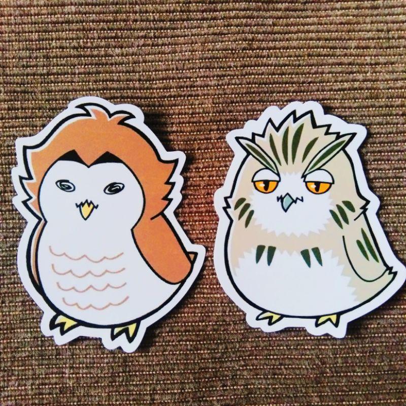 bokuto akaashi owl duo set