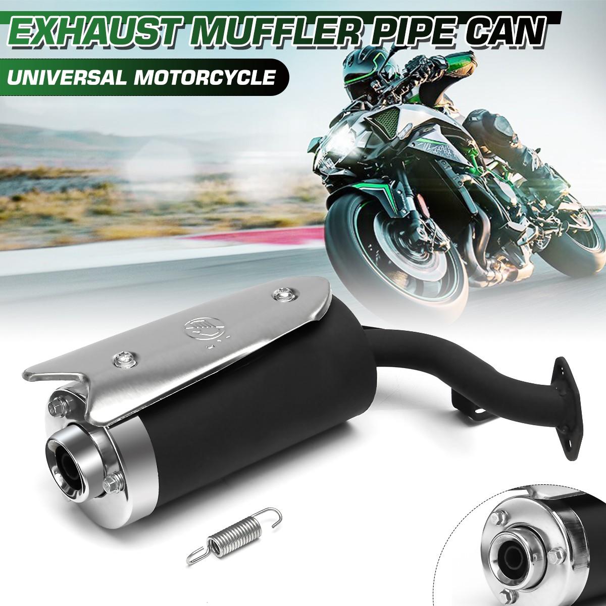 universal motorcycle exhaust muffler pipe can for mini bike