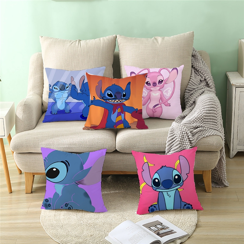 18 18inch halloween pillow cases polyester sofa lilo stitch cushion cover home decor
