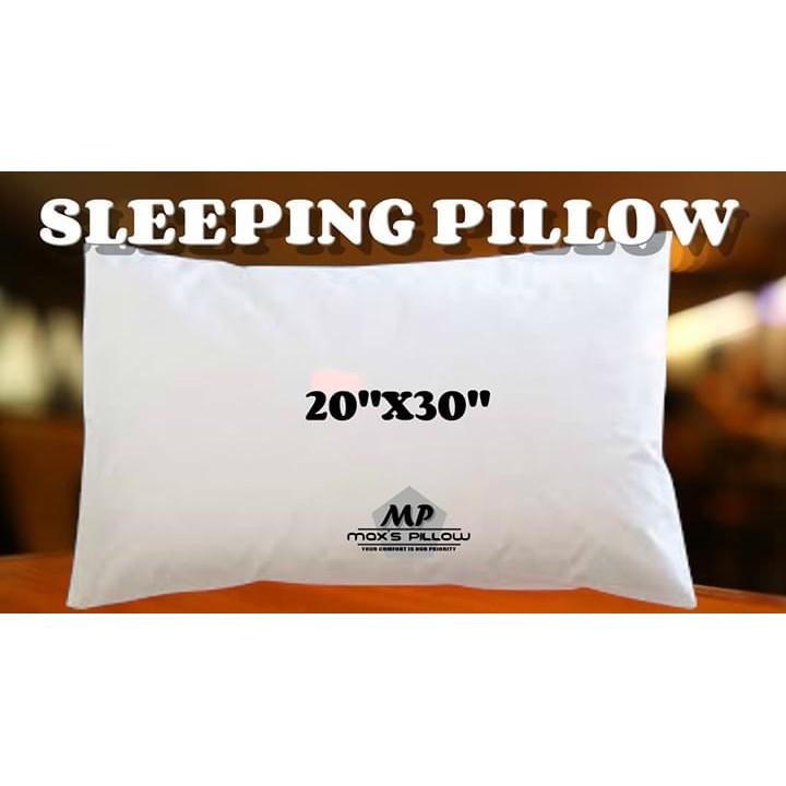 maxs pillow 20x30 white