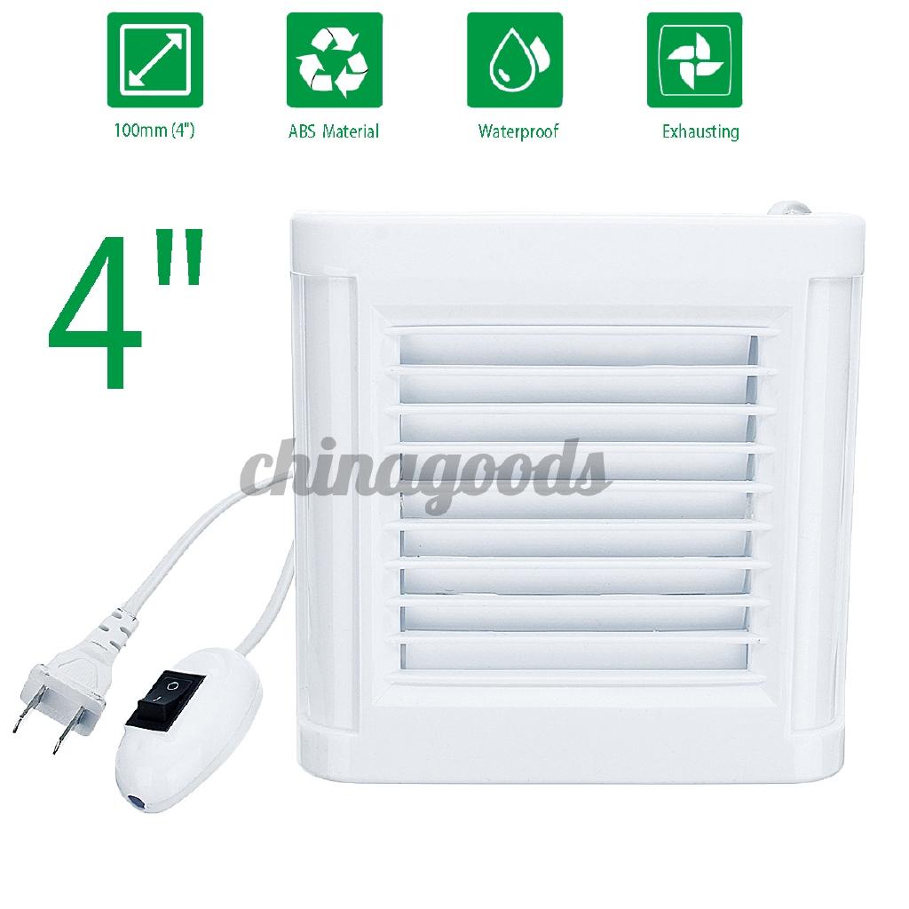 window type bathroom exhaust fan kitchen wall glass small ventilation fan indust