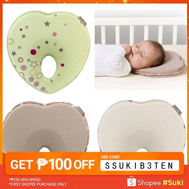 baby shaping pillow newborn correct head type memory pillow