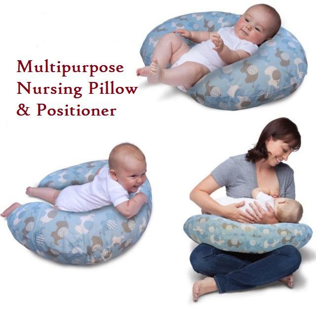 child care multipurpose breastfeeding nursing pillow and positioner pillow