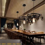 New Industrial Retro Vintage Pendant Lamp Kitchen Bar Hanging Ceiling Light Home Dinning Room Decor Shopee Philippines