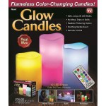 Glow Candles Flameless Color Changing Candles 3 Battery Operated Led Pillar Candles With Remote Shopee Philippines