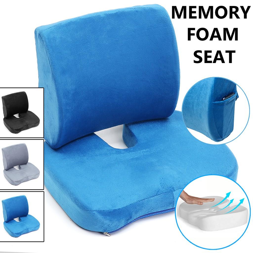 memory foam lumbar cushion back support pillow car s gf