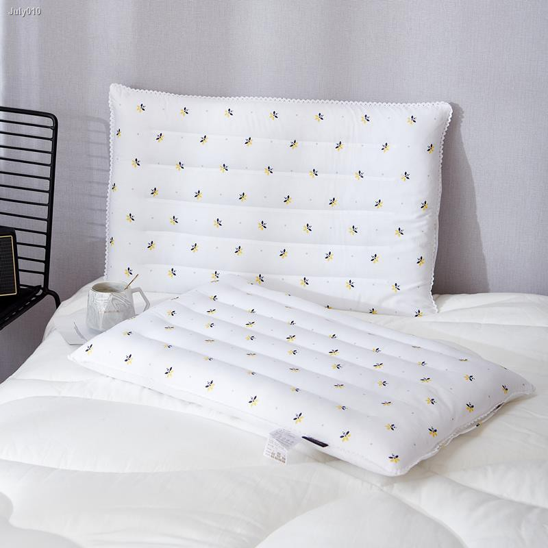a new low pillow home ultra thin section pillow short pillow single flat protection