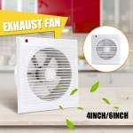 4 8 Inch Wall Extractor Exhaust Fan Bathroom Window Waterproof Mute Ventilation For Kitchen Toilet Ventilation Fans Shopee Philippines