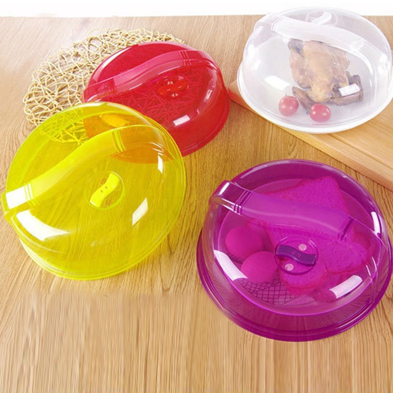 plastic microwave food cover vented