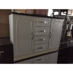 Kitchen Buffet Cabinet With Drawers In White Shopee Philippines