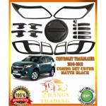 Chevrolet Trailblazer 2016 2020 Combo Set Matte Black Garnish Set Made In Thailand Shopee Philippines