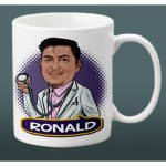 Doctor Personalized Mug Drawing Caricature Gifts Ideas Shopee Philippines