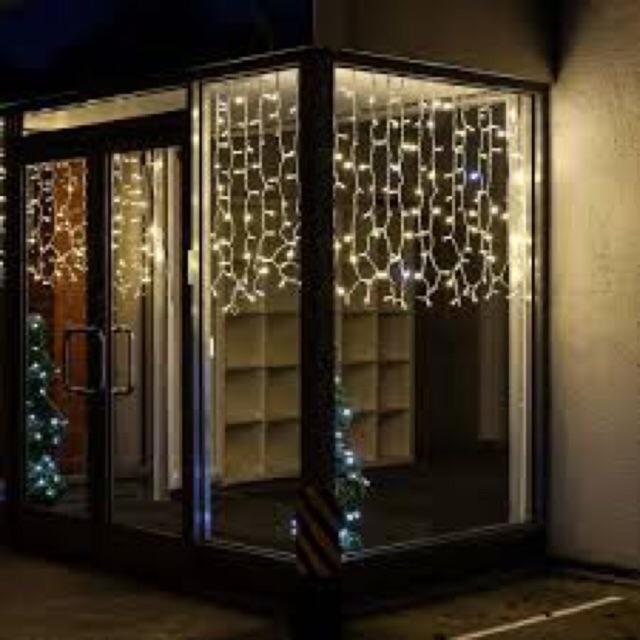 led curtain lights 200l