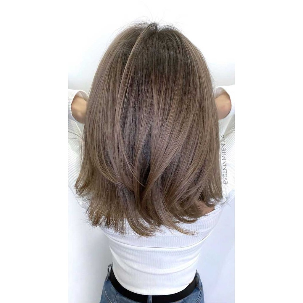 Bremod Hair Color 8 1 Light Gray Shopee Philippines