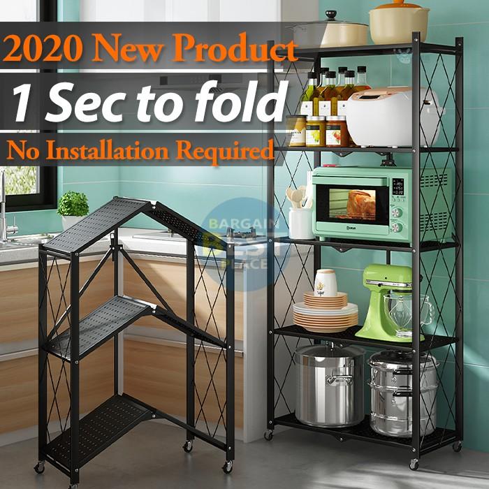 foldable rack shelf storage rack display shelves shelving unit metal organizer ikea rack