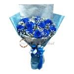 Hand Bouquet 433 Bouquet Of Valentine S Bouquet Of Graduation Flowers Bouquet Beautiful Flower Fresh Shopee Singapore