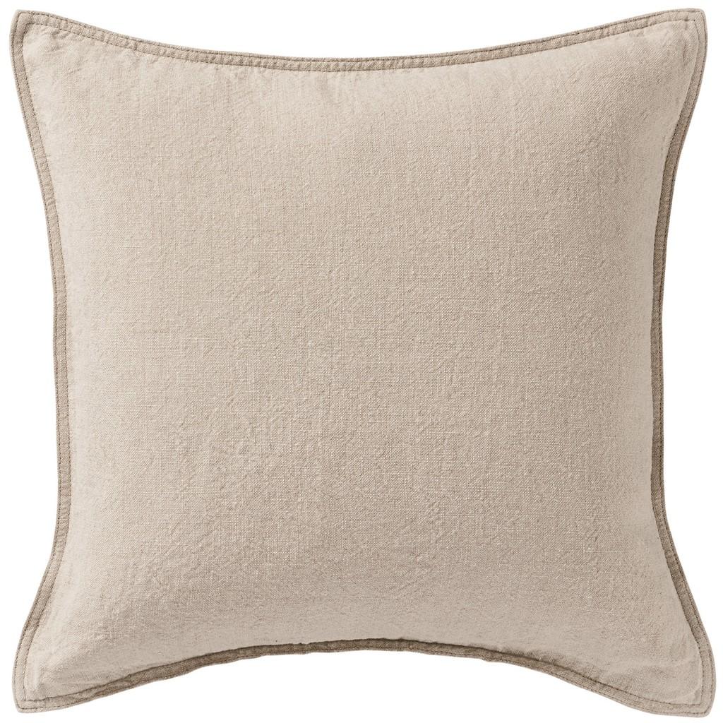 muji linen cushion covers