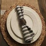 Wood Napkin Ring Fabrics Holder Rustic For Party Decor Shopee Singapore