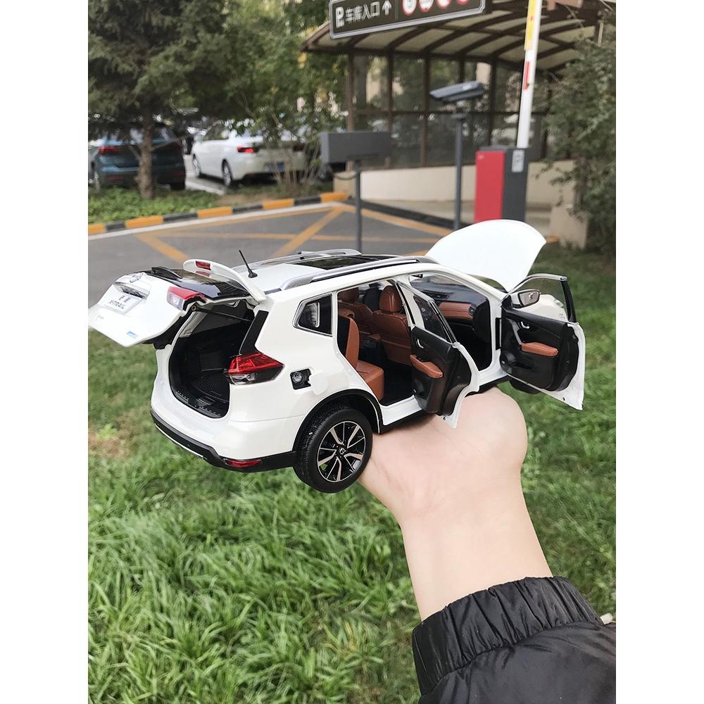 NISSAN x-trail 1:18 2018款東風 日產 奇駿 X-TRAIL 日產X-TRAIL新奇駿合金汽車模型 | 蝦皮購物