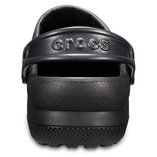 CROCS 中性鞋 工作鞋 涼拖鞋 204590-001黑色 | 蝦皮購物