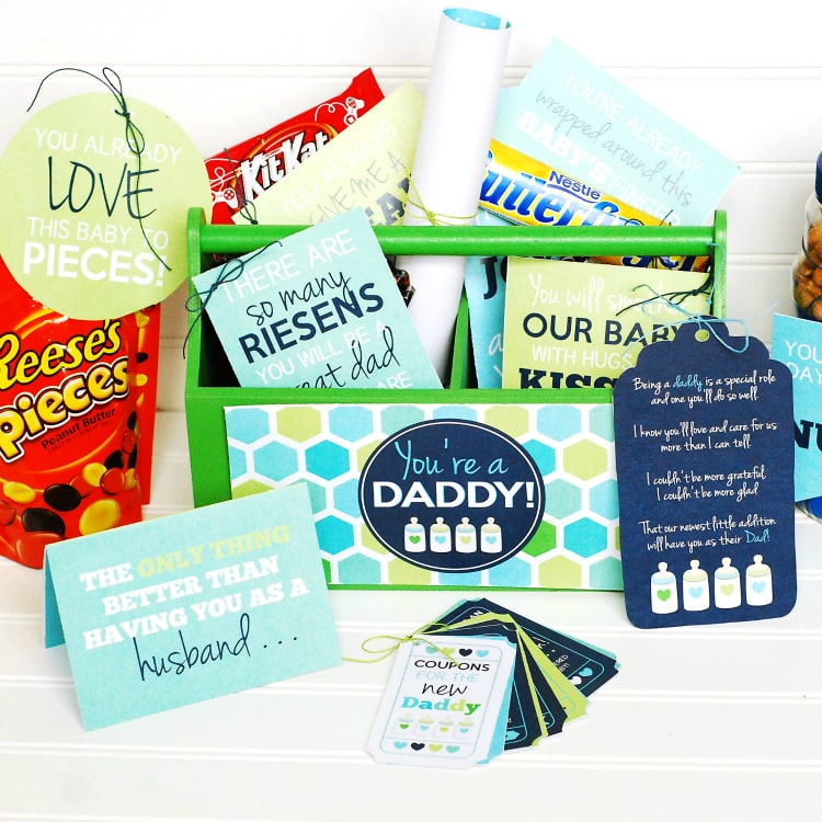 New Dad Gift Basket The Dating Divas