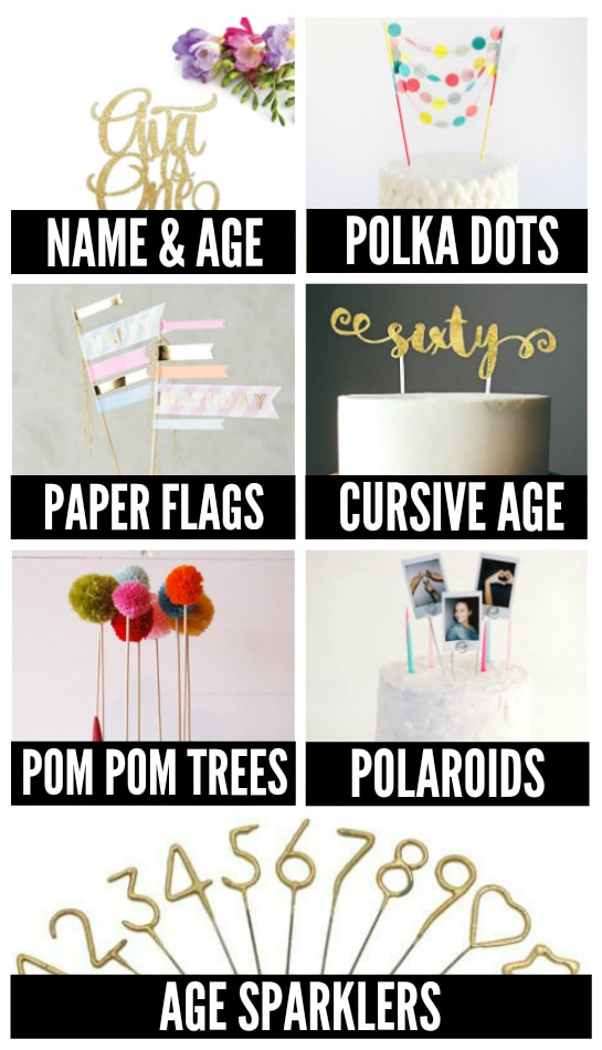 Cake Decorations for Birthday Parties