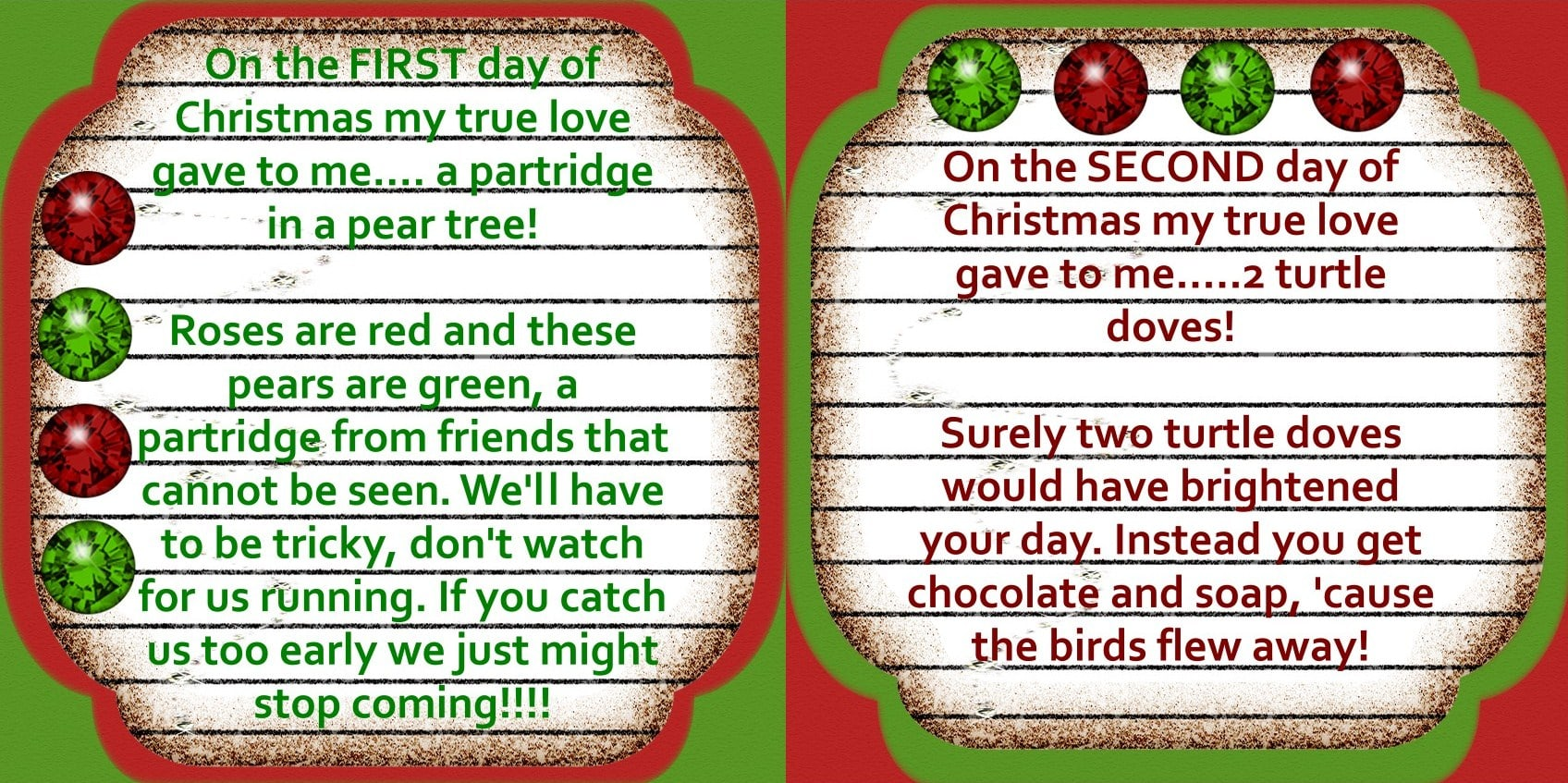 Worksheet Christmas Day