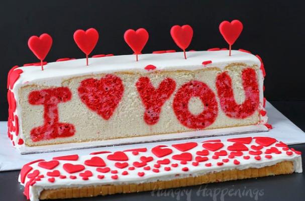 Foodista The Sweetest I Love You Cake For Valentines Day