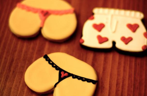 Foodista Underwear Sugar Cookies Are Scandalous Sweets
