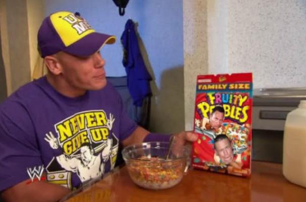 Foodista John Cena Teams Up With Fruity Pebbles For Charity