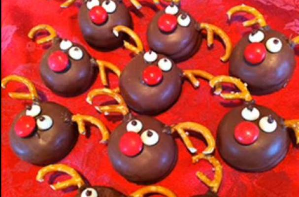 Foodista Quick And Easy Reindeer Cupcakes