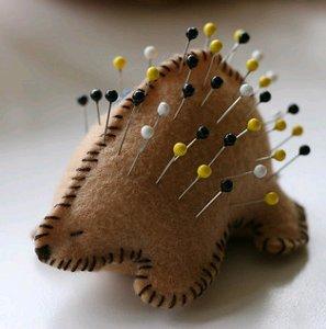 Porcupine pelotes à épingles
