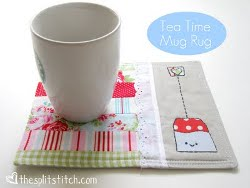 Tea Time Mug Rug Tutorial