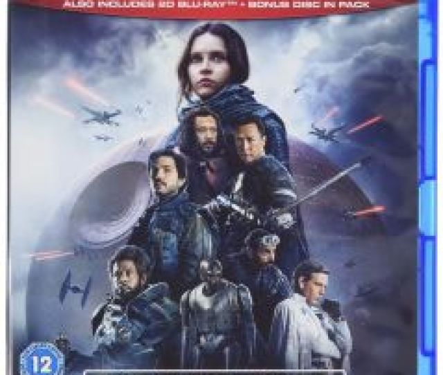 Rogue One A Star Wars Story Blu Ray 2017