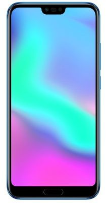 Honor 10 Dual Sim - 128 GB, 4 GB Ram, 4G LTE, Phantom Blue