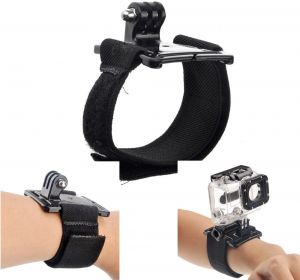 Wrist Strap Elastic Band Mount for GoPro Hero 1 2 3 3 Plus