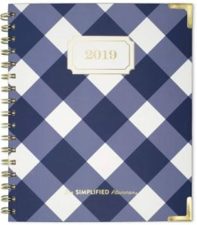 Image result for Emily Ley Simplified Planner 2019 Navy Gingham